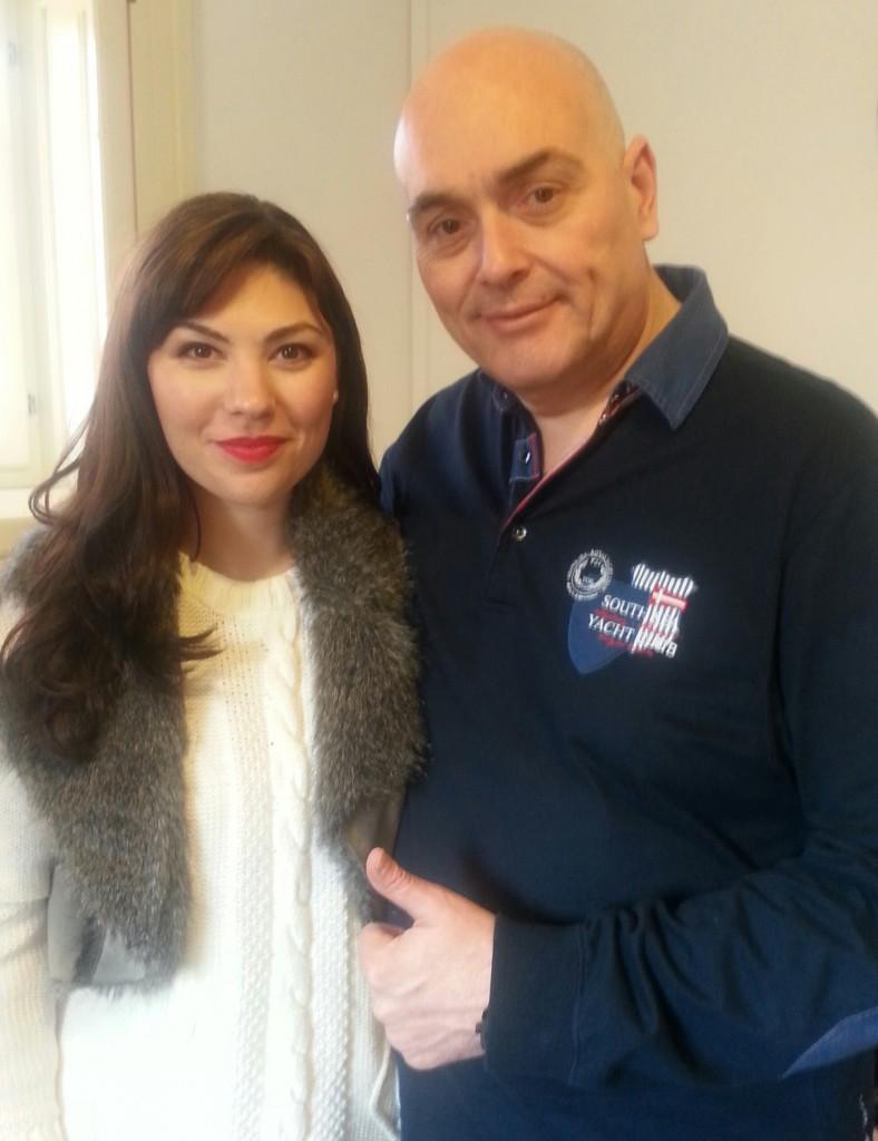 Corina Stoicescu si Ross Ranallo