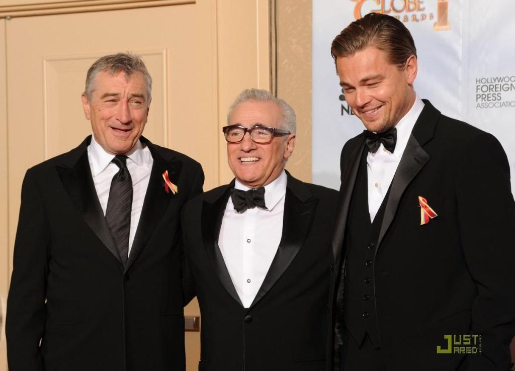 Leonardo DiCaprio Martin Scorsese  Robert De Niro