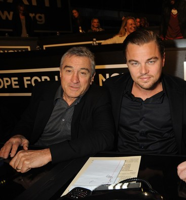 MTV De Niro DiCaprio and Jack Nicholson at the Hope For Haiti Now A Global Benefit For Earthquake Relief telethon on January 22 2010 LA2