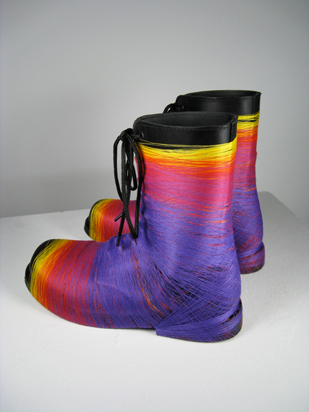 Rainbow-boots from the series don't ask don't tell