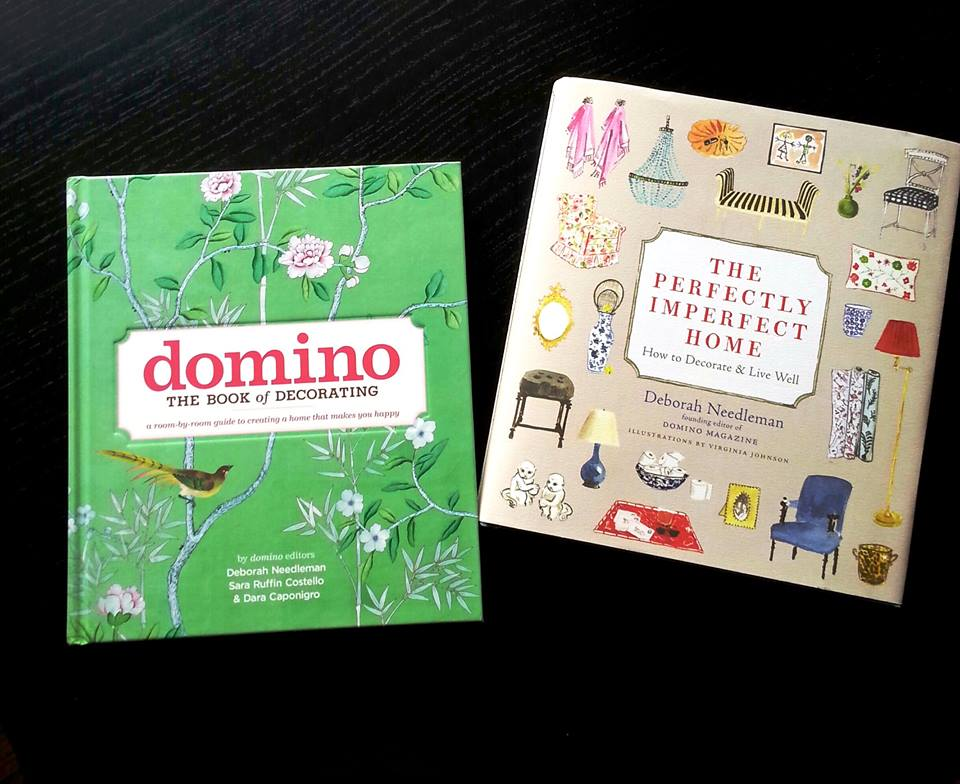 Domino and The perfectly imperfect home design books