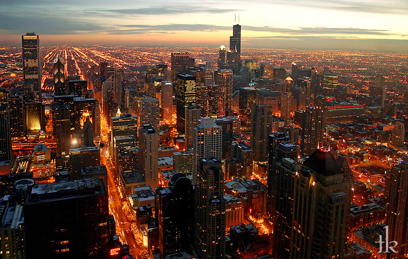 chicago_night_by_talikf