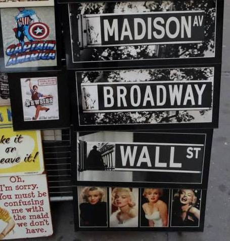 madison broadway wall st