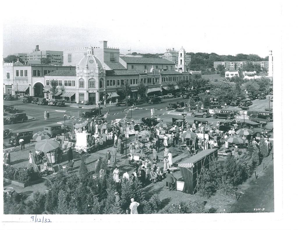 Primul mall din lume 1932 art fair