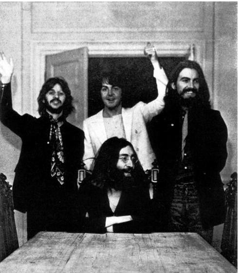 Ultima poza Beatles impreuna