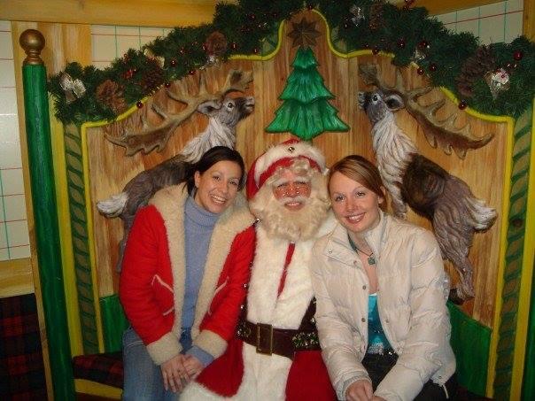 Elodie Oliveira Santa Claus New York