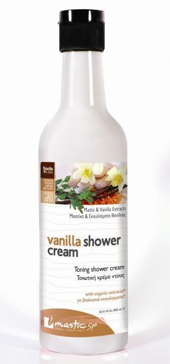 vanilla shower cream