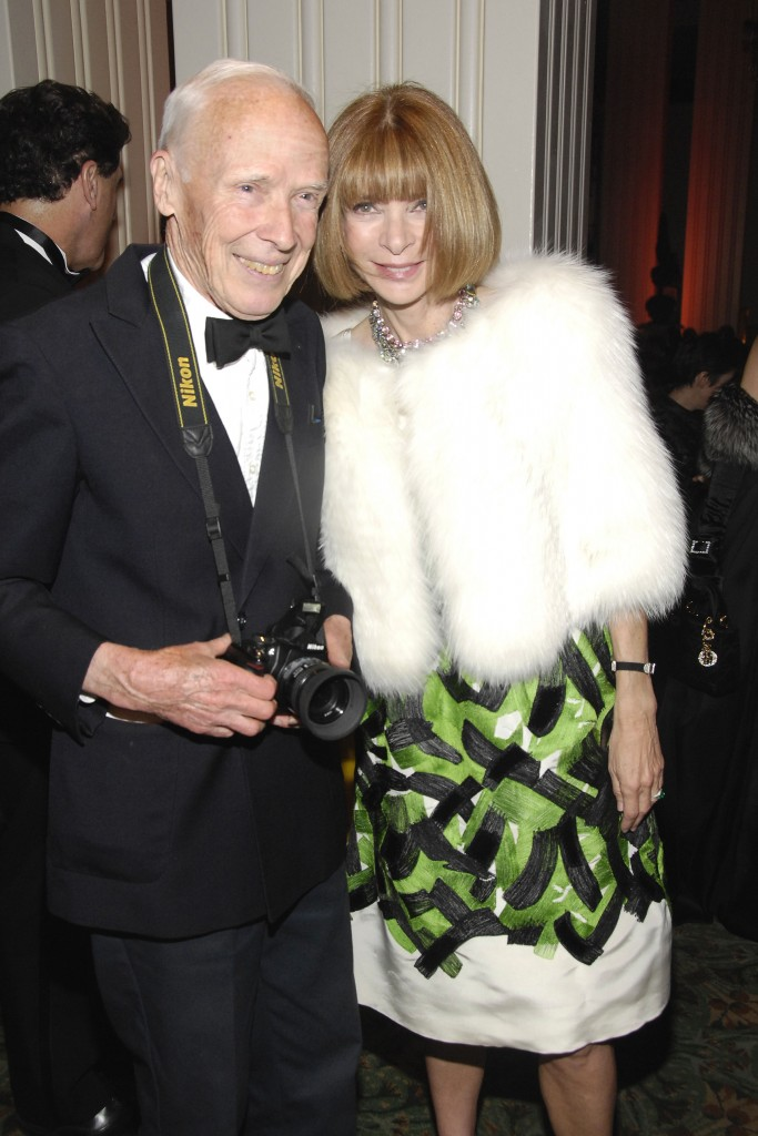 Bill Cunningham Receives Carnegie Hall Medal of Excellence