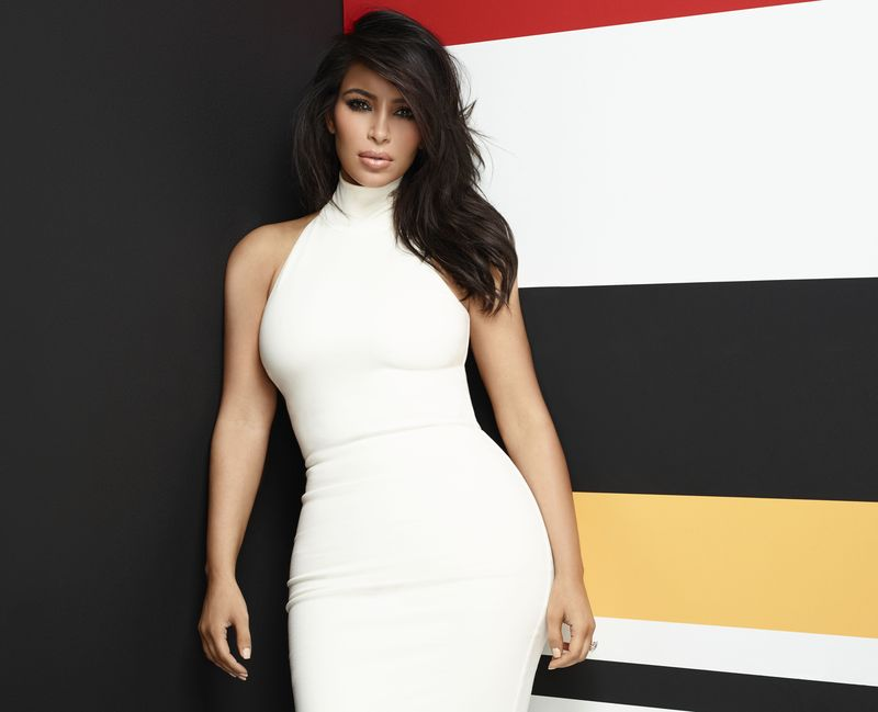 E! BRAND SHOOT -- Season: 2014 -- Pictured: (Kim Kardashian West) -- (Photo by: Brian Bowen Smith/E!)