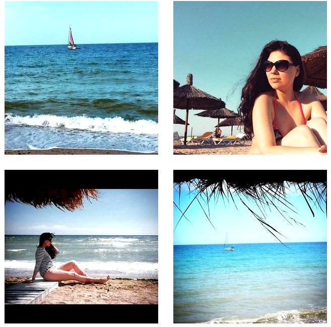 Summer sun sea sand
