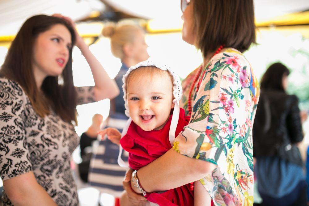 Cristiana Bobaru, Roxana Iliescu si fetita ei la evenimentul Urgo Spots Filmogel