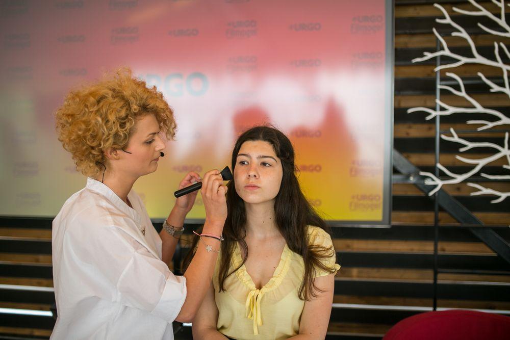 Demonstatie machiaj Urgo Spots Filmogel