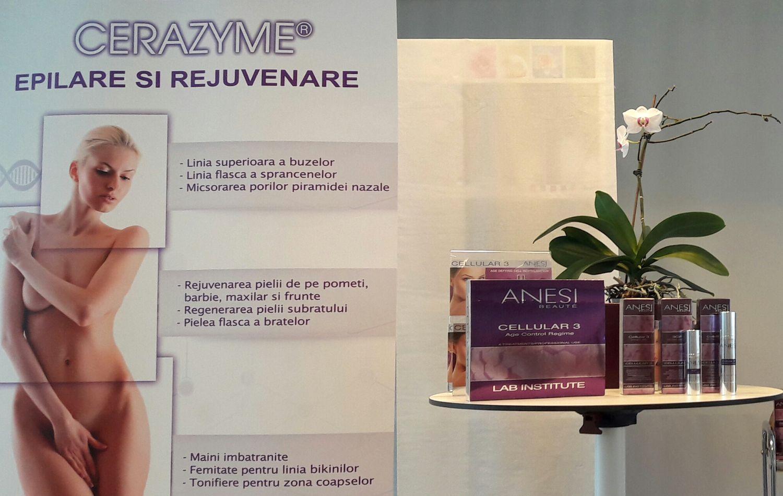 Lansare Depileve Cerazyme Rejuvenation & Anesi TopLine @EsentaTare.com