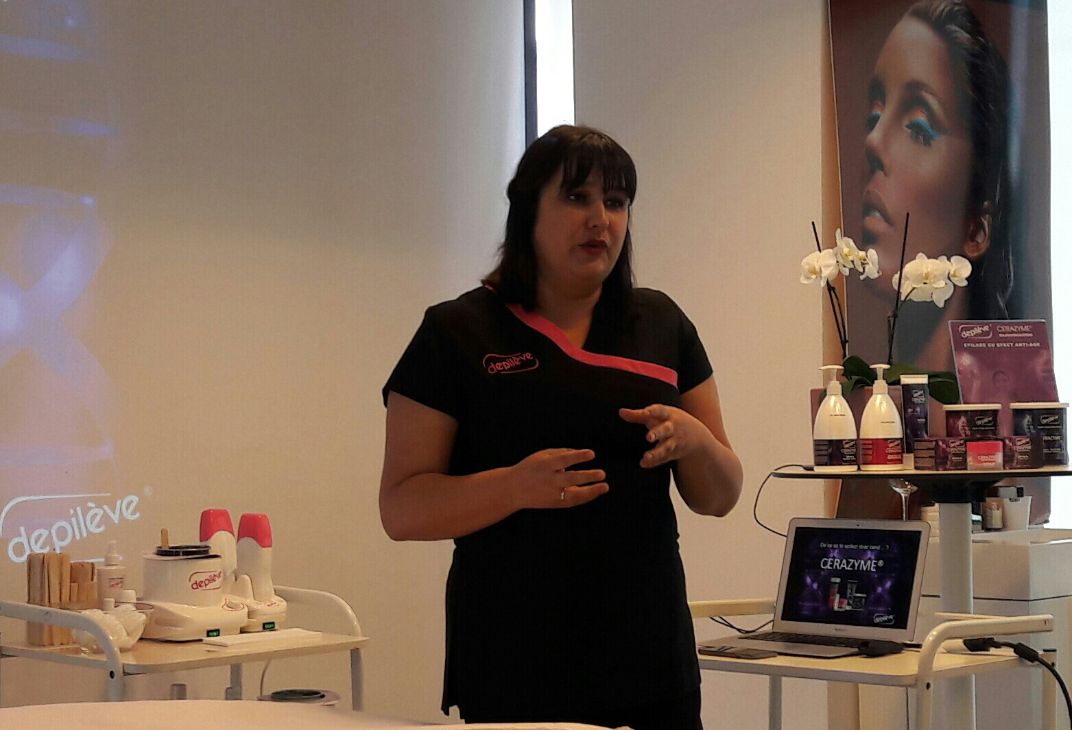 Lansare Depileve si Anesi Patricia Durado International Trainer