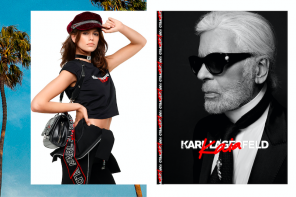 Karl Lagerfeld and Kaia Gerber launch AW18 Jewellery Capsule Collection