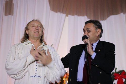 Cu Stefan Hrusca dupa concert