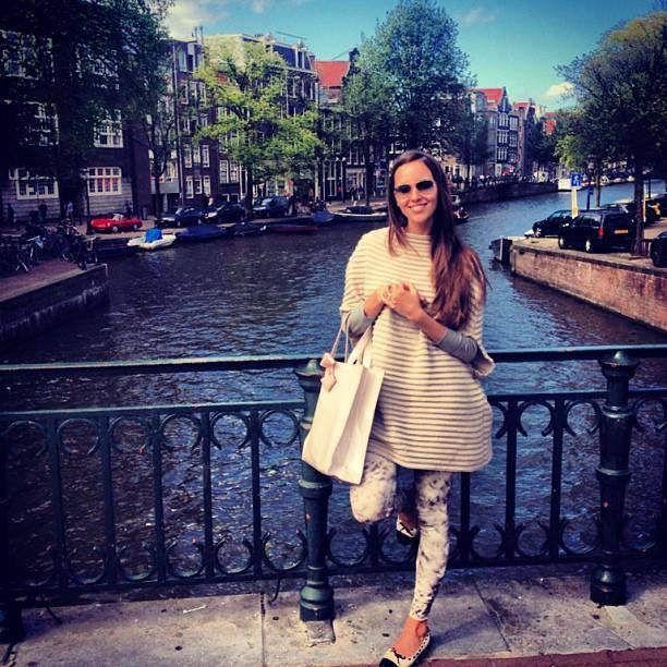 Floriana Cristea Amsterdam canal