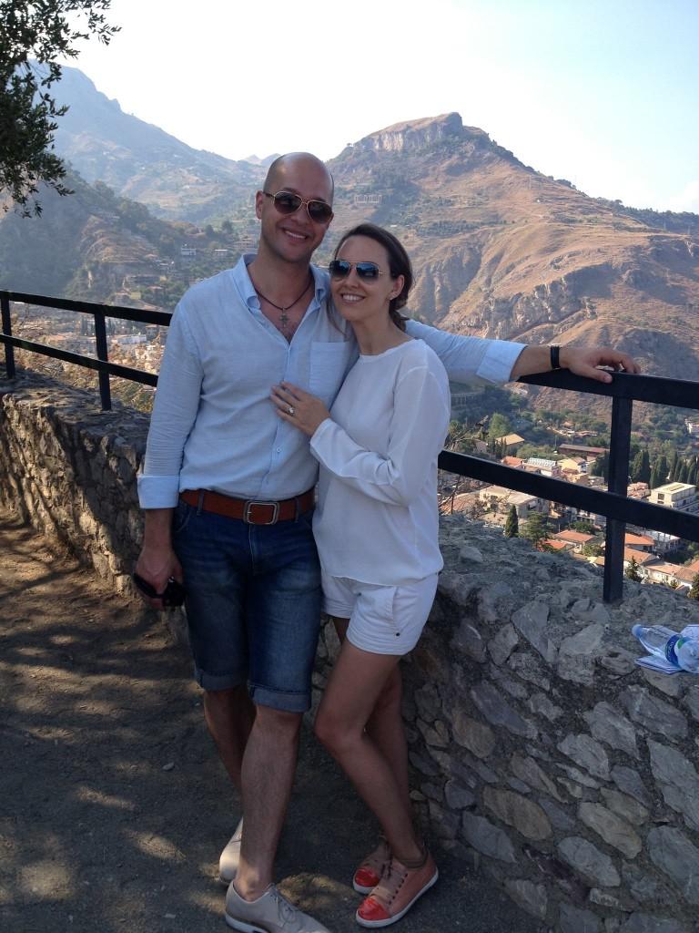 Floriana si Edwin Capri Italia