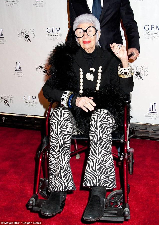 Iris Apfel event New York
