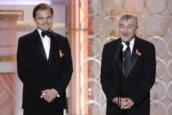 Leo di Caprio si Robert de Niro