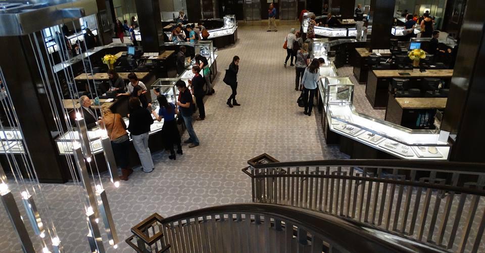 inside Tiffany NY 2