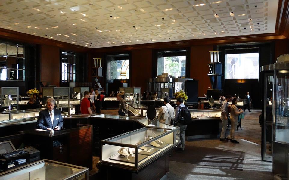 inside Tiffany New York 1