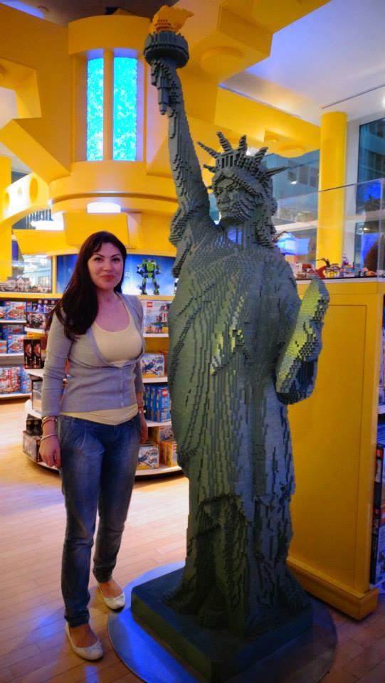 Statuia Libertatii din lego