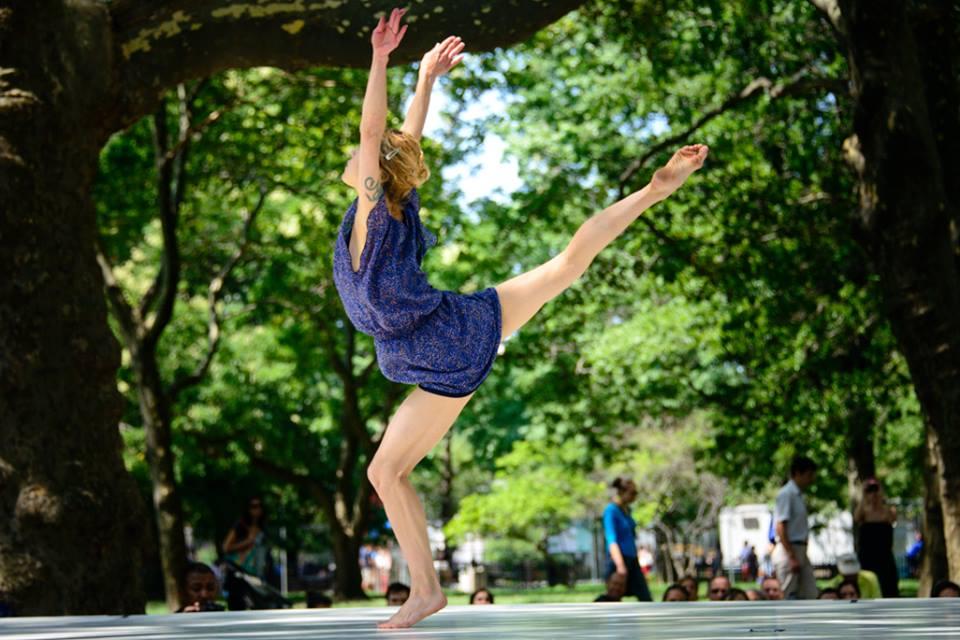 dance festival battery park