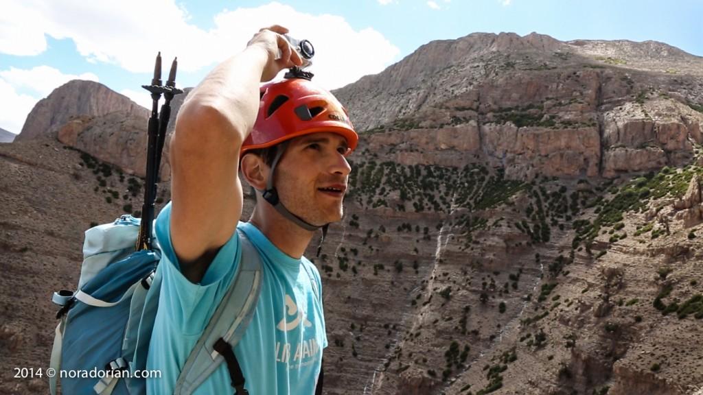 Alpinist Claudiu Miu Atlas 1