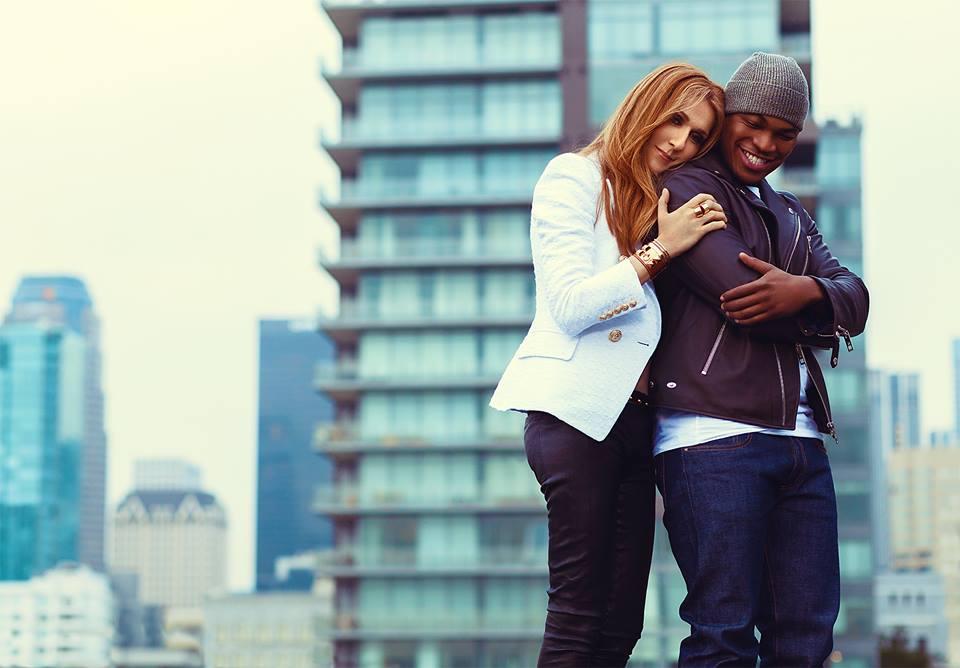Celine Dion si Ne-Yo promo shoot