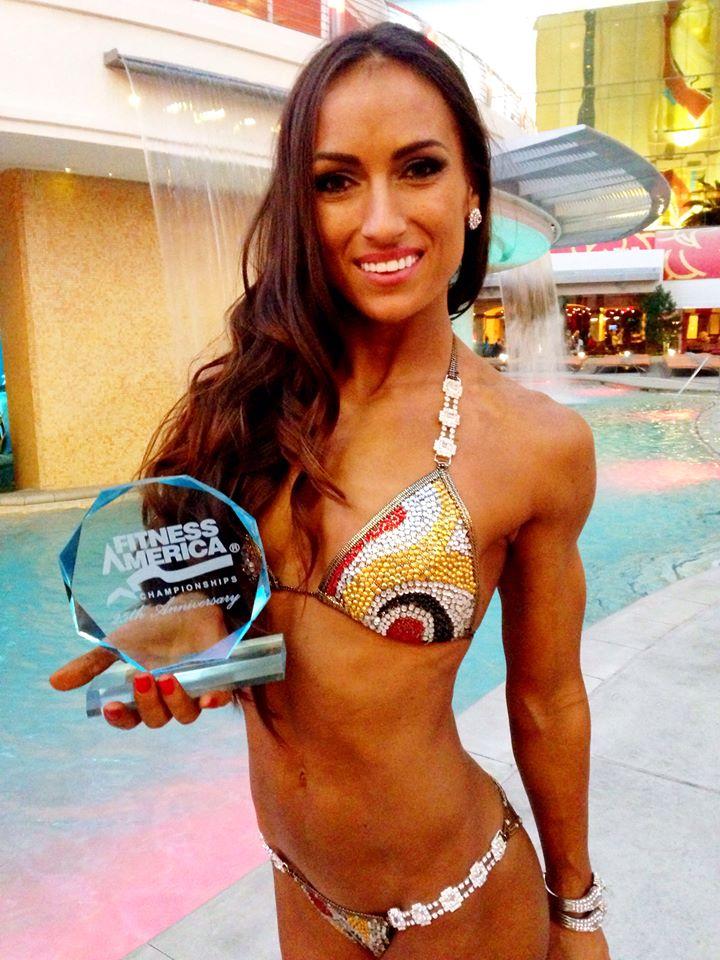 Anca Bucur - Vicecampioana Mondiala Fitness America