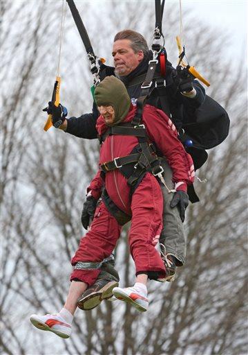 Centenarian Skydiver