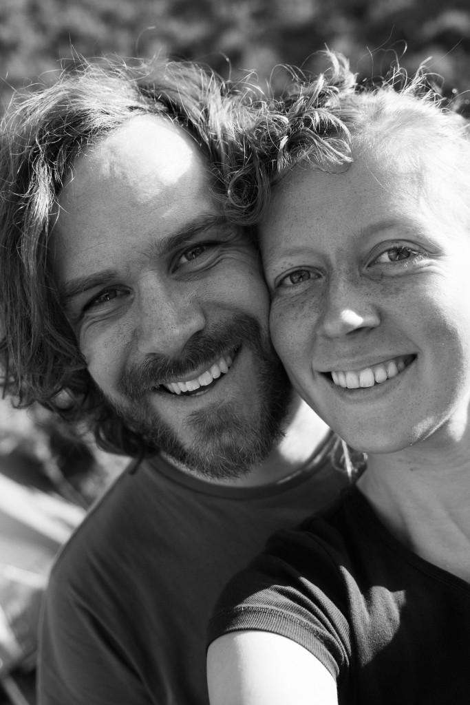 Mandy Brander and Pieter adventure