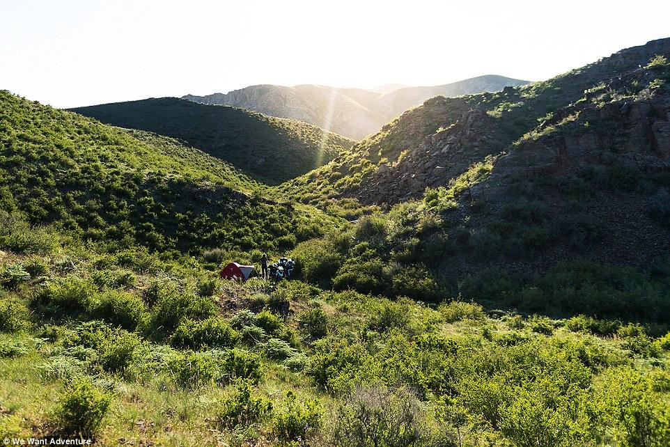 We want adventure camping in Kazakhstan
