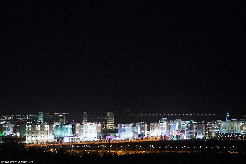 photo we want adventure city Turkmenistan