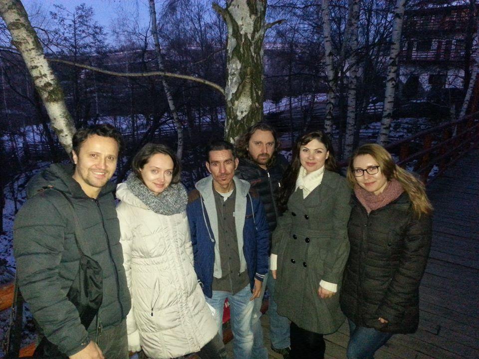 Atelier Actorie coordonator Dorian Boguta Corina Stoicescu Ruxandra Panghe Marin Apostol