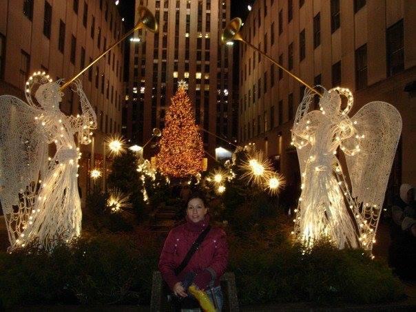 Elodie Oliveira Christmas Tree Rockefeller Center  New York