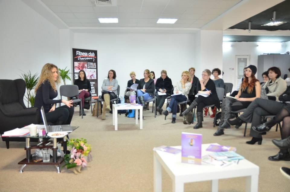 Seminar nutritie Carmen Bruma Fitness Club Oroviceanu