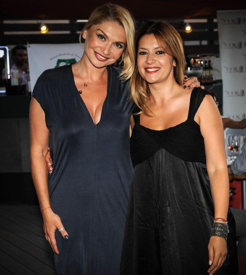 Cristina Cioran si Amalia Enache