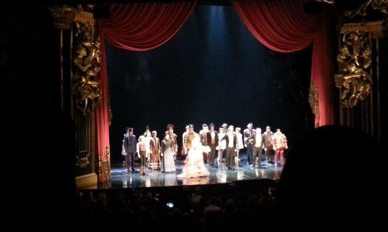 Fantoma de la Opera scena