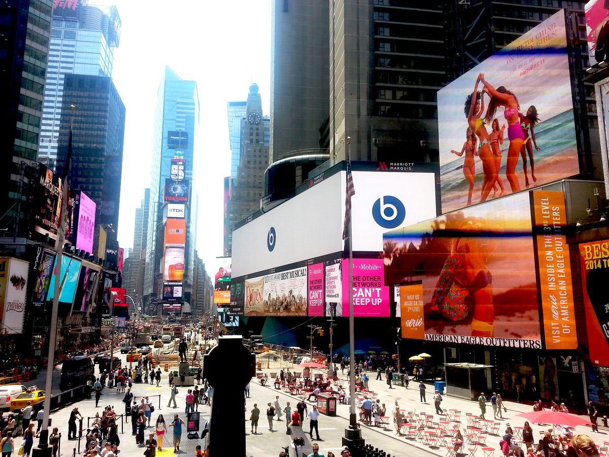 Times Square Corina Stoicescu EsentaTare.com