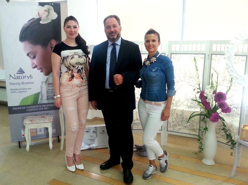 Naturys cosmetice BIO Corina Stoicescu dr Farnco Marinello