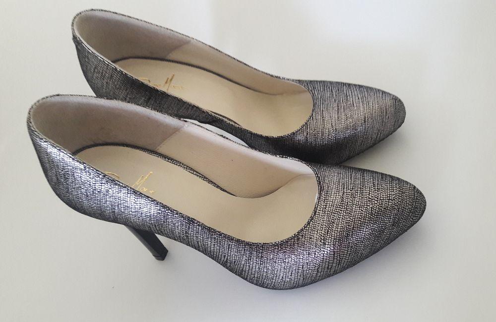 Diane Marie Studio Esenta tare pantofi argintii