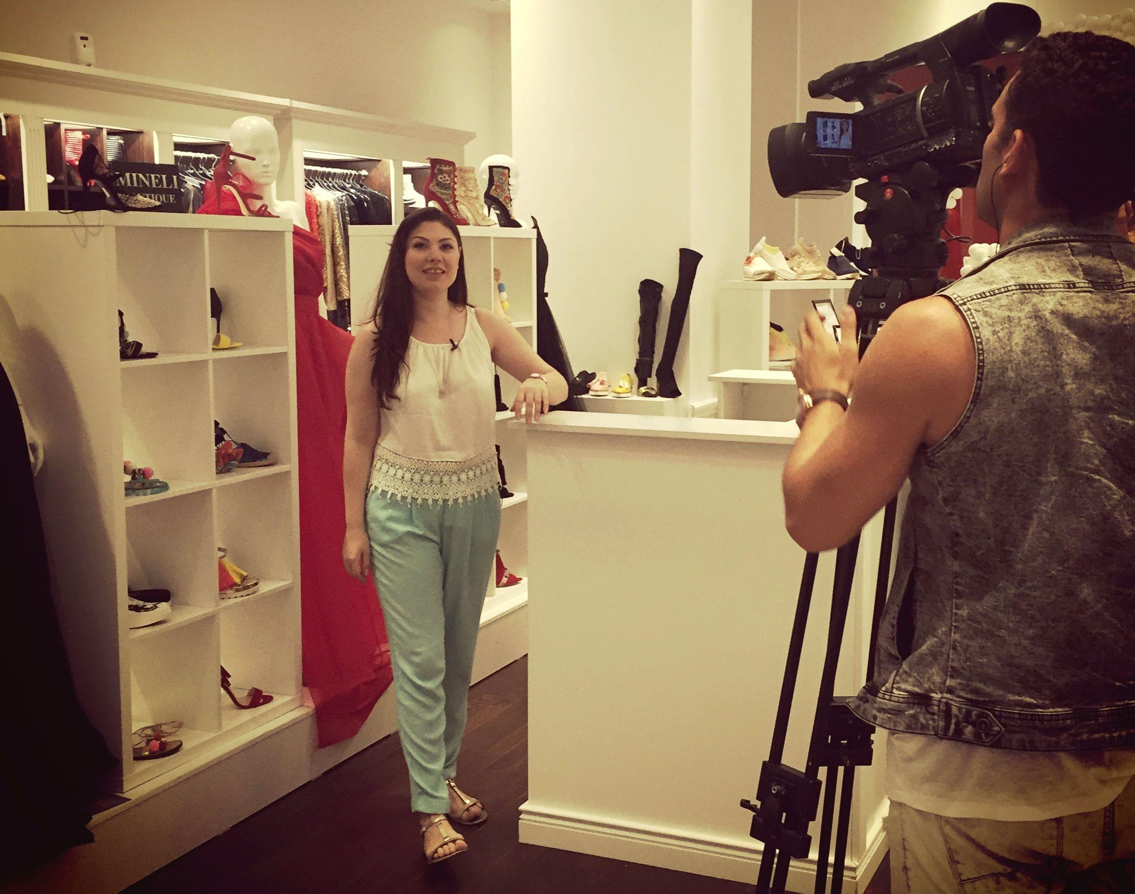 Corina Stoicescu incaltaminte Secrete de Stil (Prima TV) esentatare.com